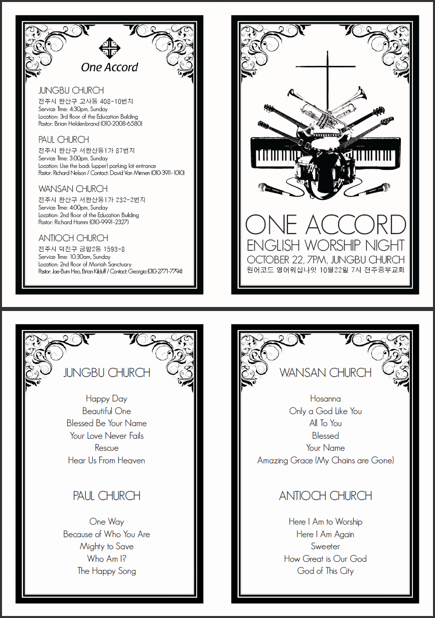 One Accord program