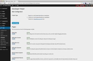 WordPress Developer Helper Plugin