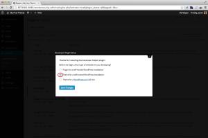 WordPress Developer self-hosted site