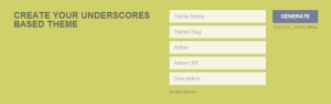 Underscores Theme Advanced Options