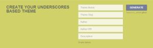 Underscores Theme Advanced Options