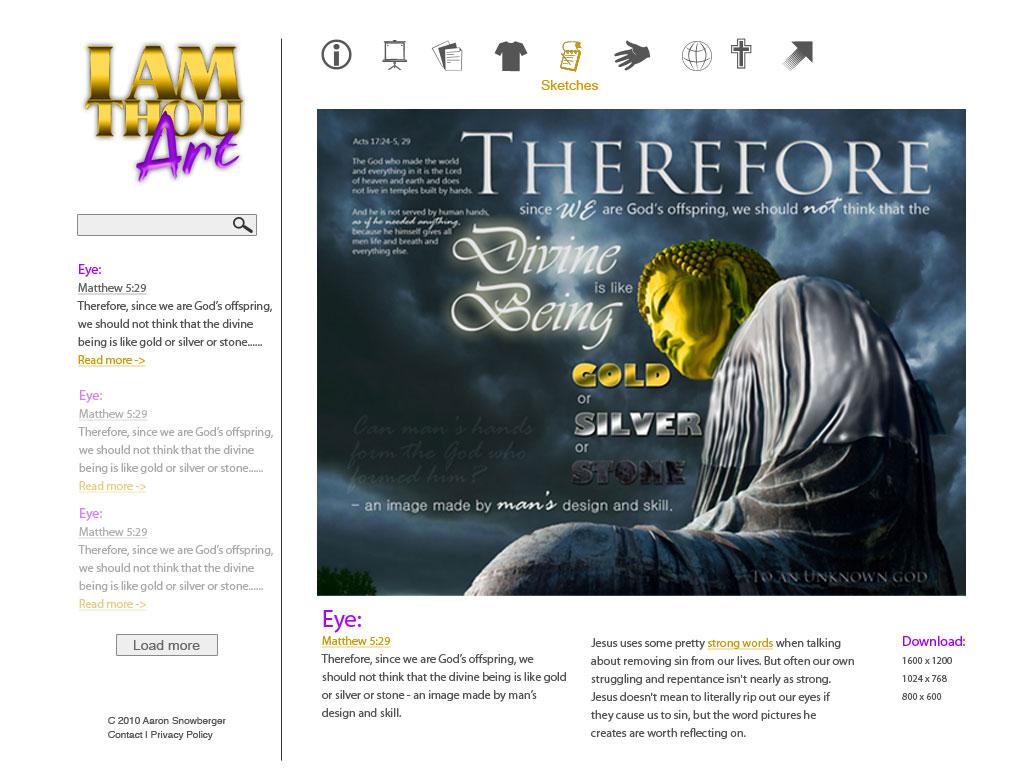 IAMThouArt-sitedesign-fullwhite