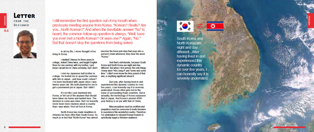 Discover Korea: pages 6-7