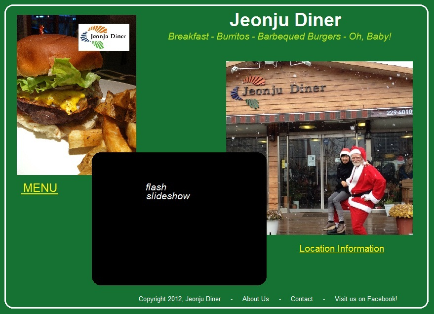 Jeonju Diner inspiration