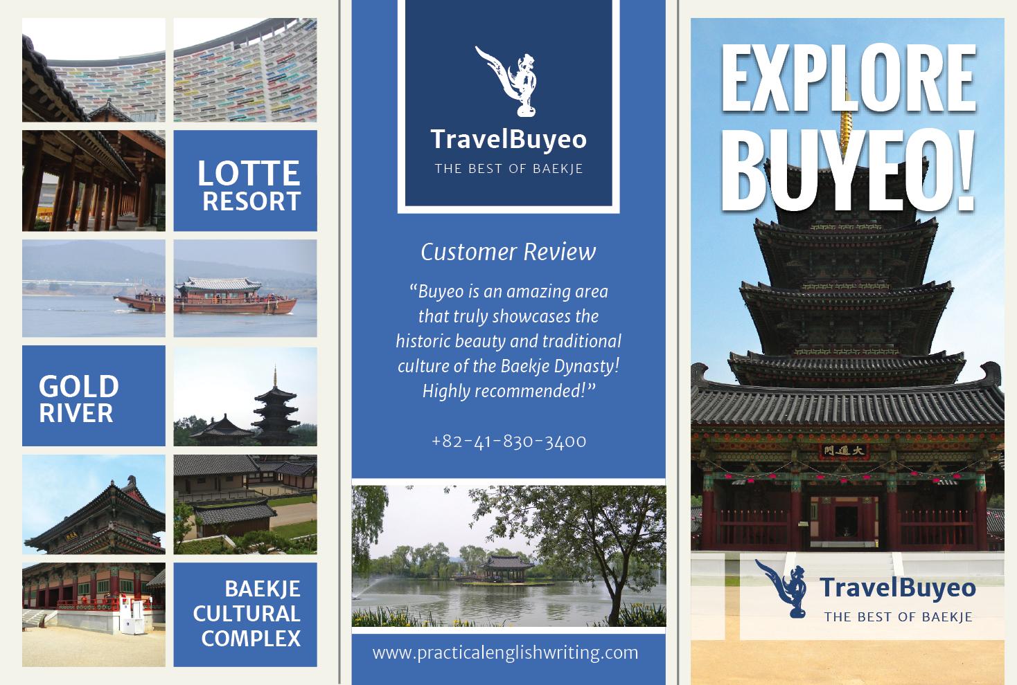 buyeo    gongju travel brochures  u2013 aaron
