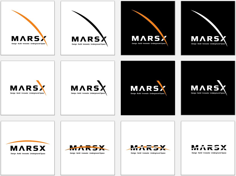 MarsX Logo – Aaron